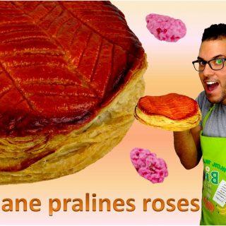 GALETTE FRANGIPANE A LA PRALINE ROSE