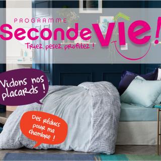 """Seconde vie """"Opération Linge de lit"""""""