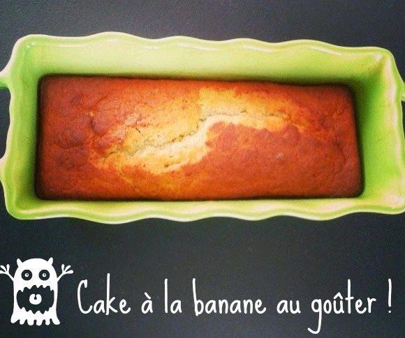 Cake à la banane pour le goûter