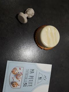 biscuits apéritif sur son lit de panna cotta au roblochon