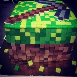 Gâteau mincraft