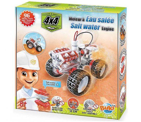 J'ai testé pour vous le kit de construction 4×4 à eau salée