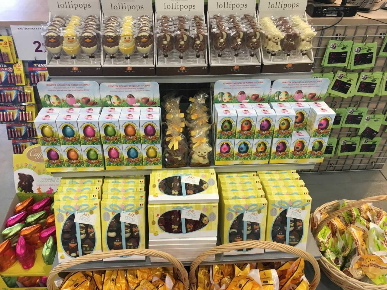 Les chocolats et confiseries de Pâques sont arrivés