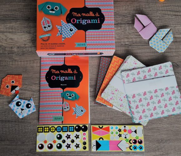 J'ai testé pour vous «ma malle à origami»