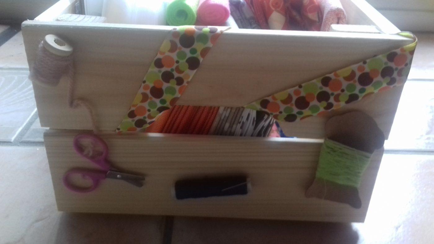 Customisation de ma caisse couture Ikea