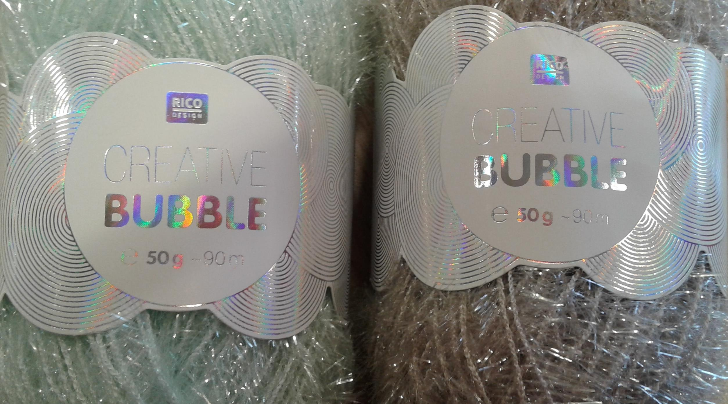 Creative bubble, la laine à éponge