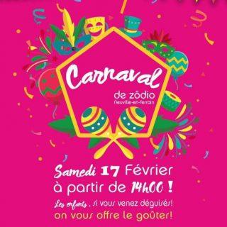 Zôdio Neuville-en-Ferrain fait son carnaval !