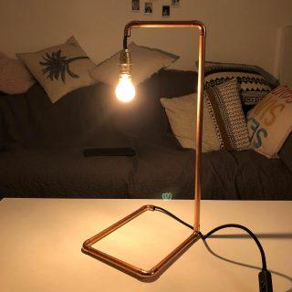 Faire sa lampe en cuivre grâce à Zodio