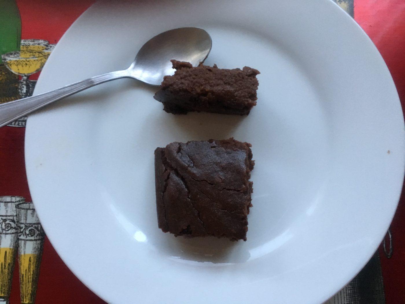 Fondant chocolat à la patate douce ( recette réunionnaise)