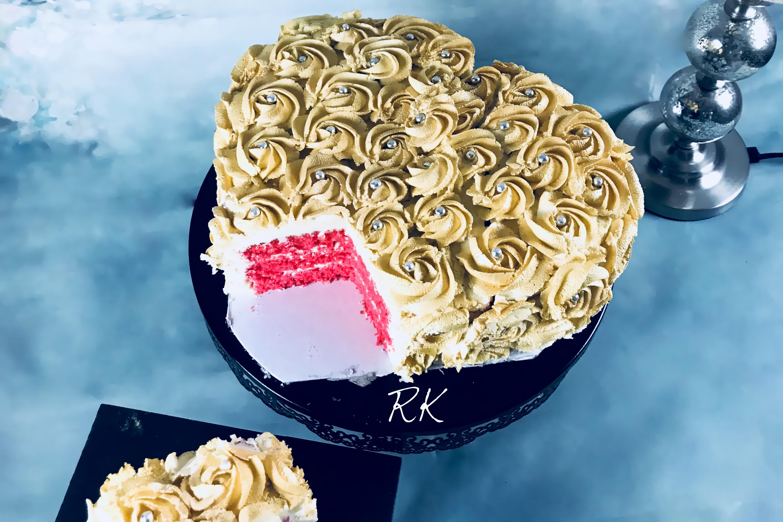 Gâteau doré à la vanille