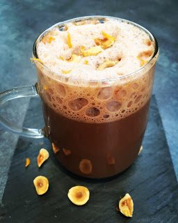 Chocolat Chaud Orange Noisette de Christophe Felder