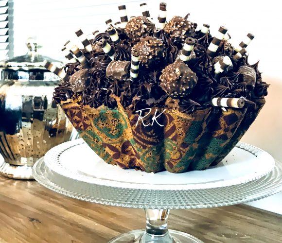 Cupcake géant, feuilles d'impressions alimentaires