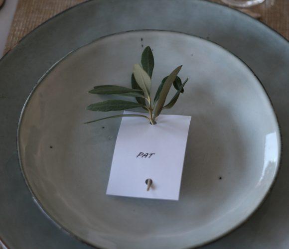 J'ai testé pour vous assiettes dessert nori vertes 21 cm