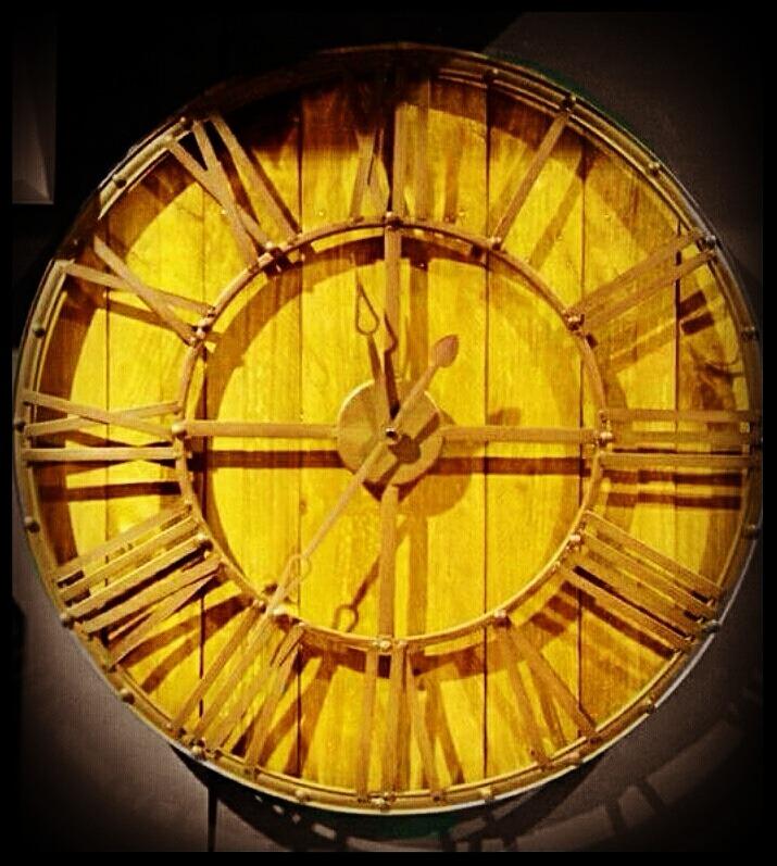 Horloge vintage de chez JJA