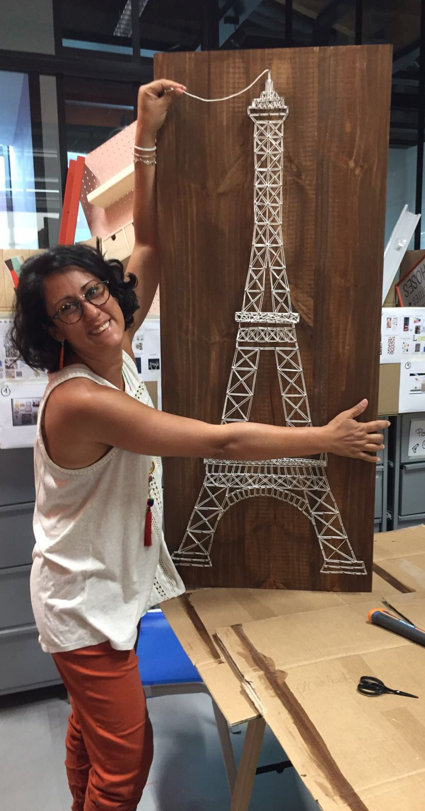 STRING ART Tour Eiffel