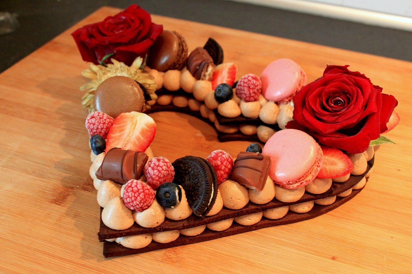 Love Cake [TUTO VIDEO] Spécial St Valentin