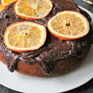 Cake à l'orange { sans gluten, sans lait, sans oeufs }