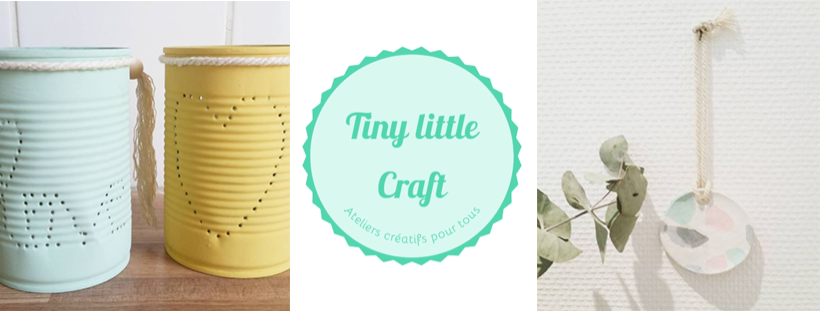 Clarisse du Blog Tiny little craft rejoint les partenaires atelier de Ze Fabrik Zôdio Herblay !