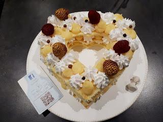 CAKE COEUR POUR LA SAINT VALENTIN