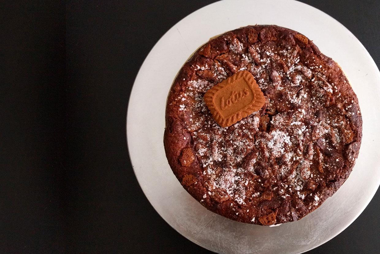 Brownie au chocolat praliné et aux spéculoos