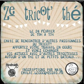 Ze Tricot Thé de Sainte Geneviève des Bois