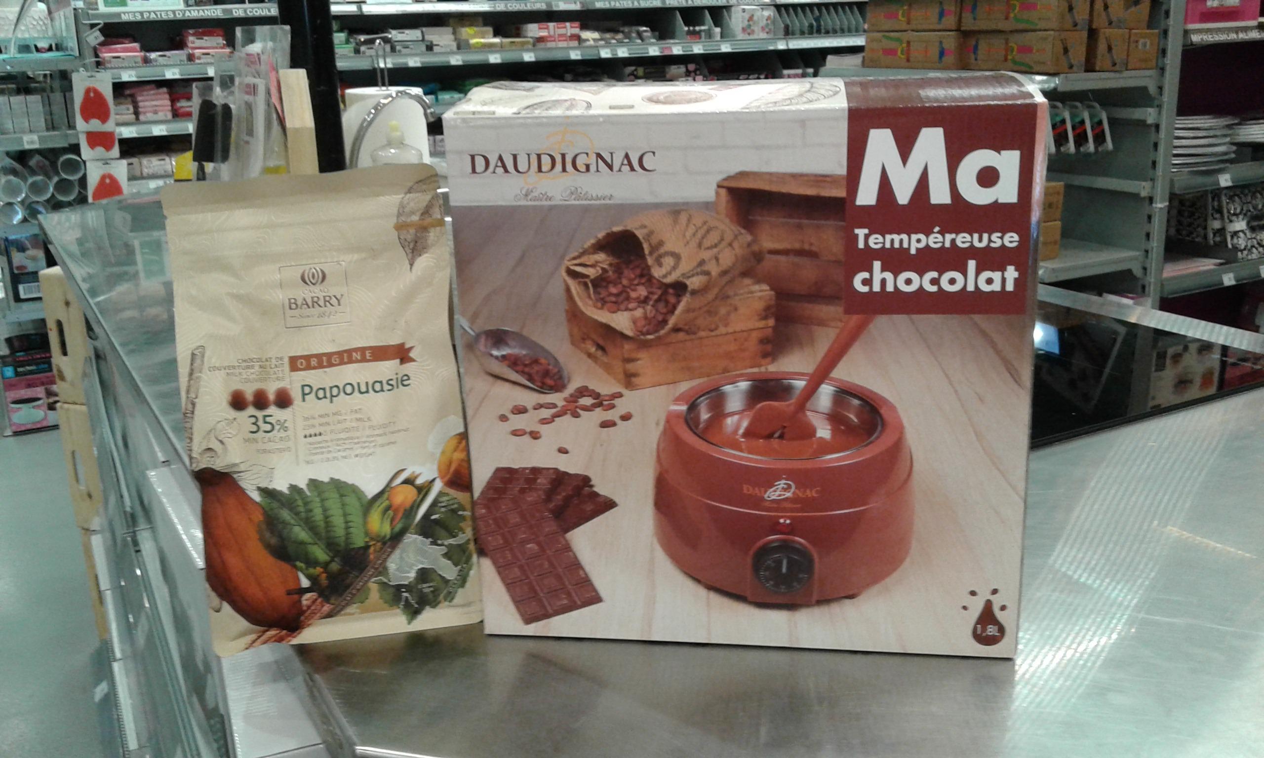 La Tempéreuse à chocolat chez Zodio!!!!!