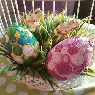 Des oeufs de Pâques en folie!