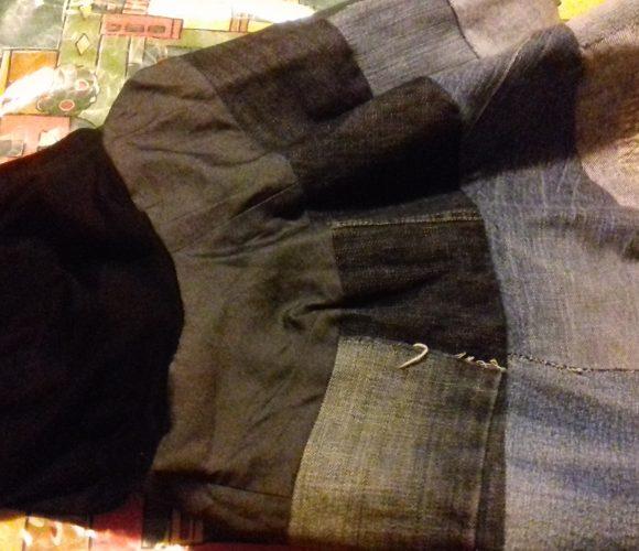Recyclons un jean en jupe ?