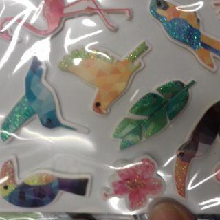 J'ai testé pour vous stickers 3D Graine créative thème tropical
