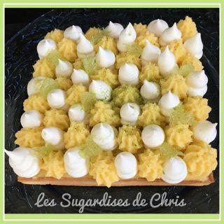 Tarte au citron vert selon Yann Couvreur