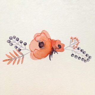 Des fleurs à l'aquarelle #2