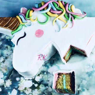 Gâteau licorne - Moule XXL