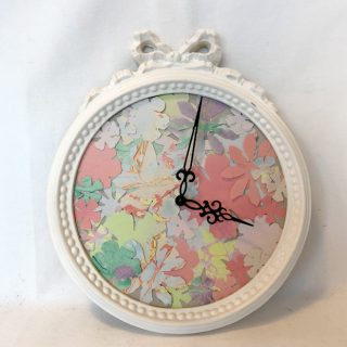 Mon Horloge DIY fleurie !