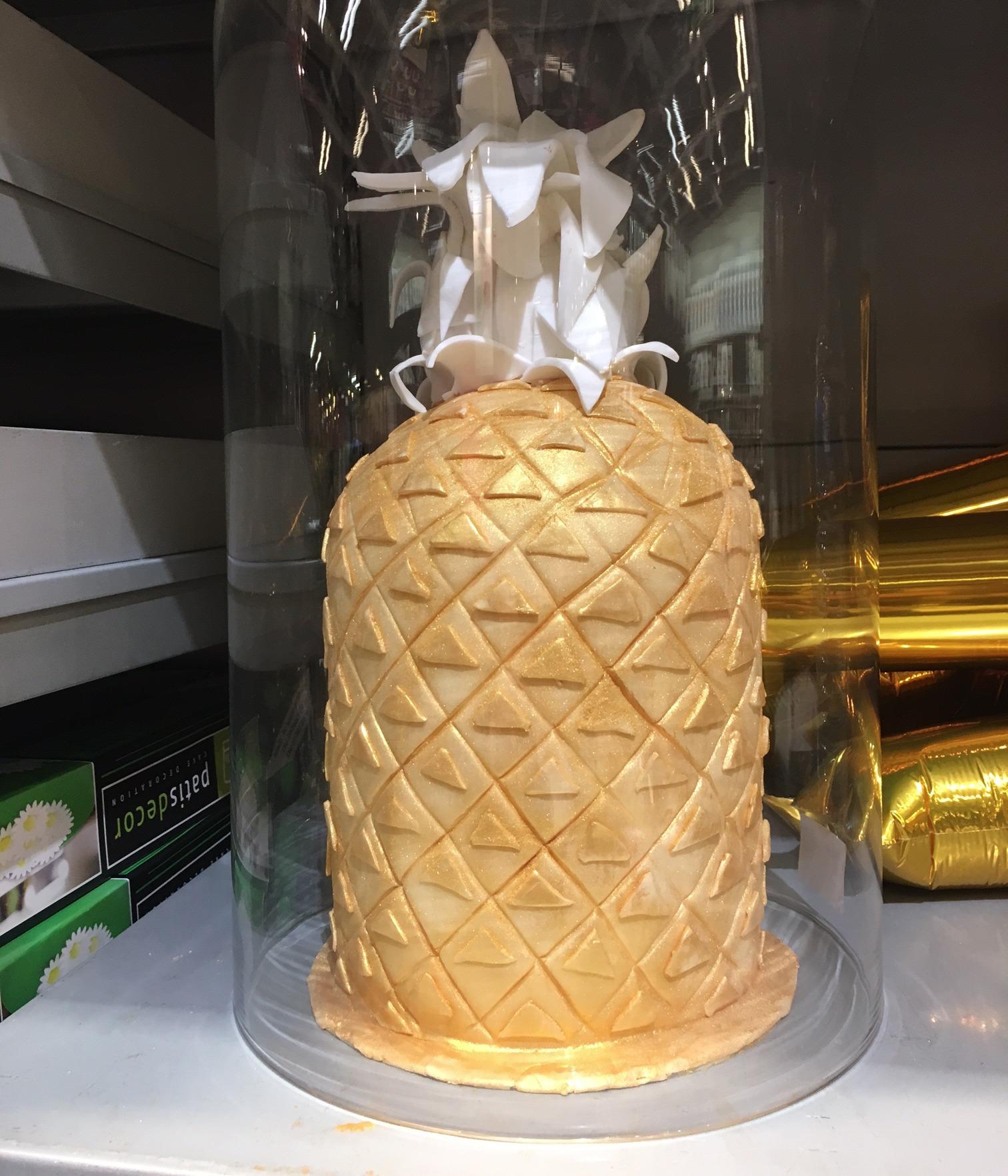 Mon gâteau Ananas