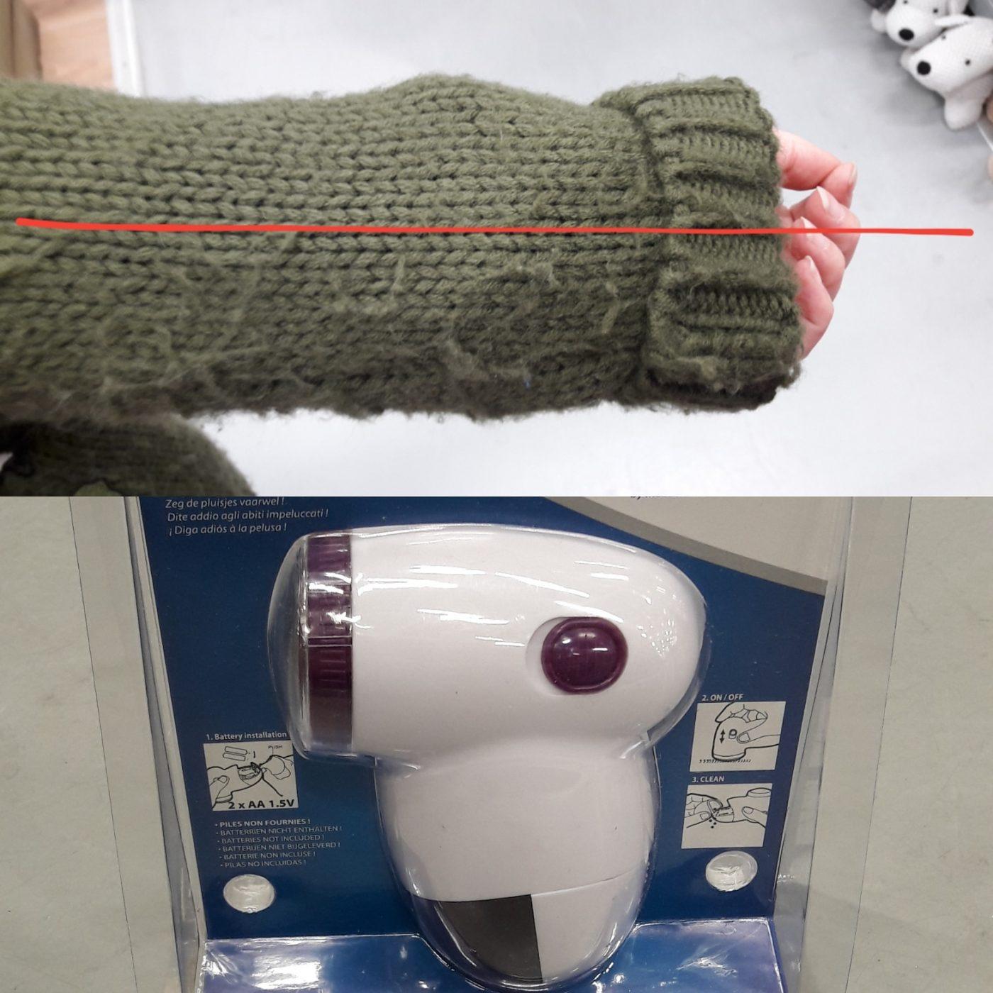 J'ai testé pour vous rasoir lainage de chez Mondex