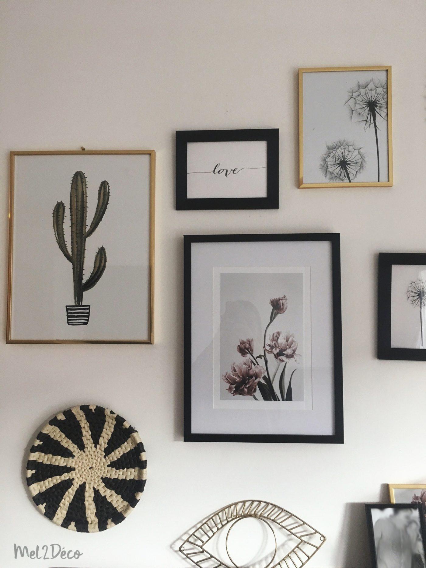 mon mur de cadre ador dor blog z dio. Black Bedroom Furniture Sets. Home Design Ideas