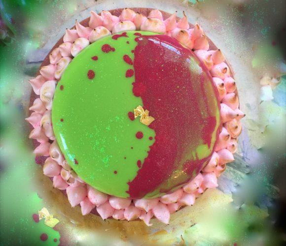 Mojito fraise des bois revisité en tarte