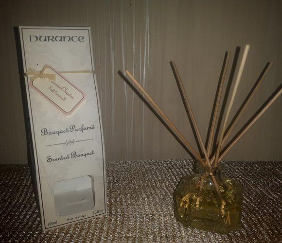 J'ai testé pour vous le bouquet parfumé «Durance» au caramel tendre