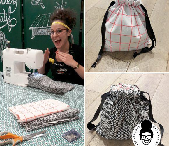 J'ai testé pour vous l'Atelier Créatif Zôdio «Couture à la machine à coudre» !