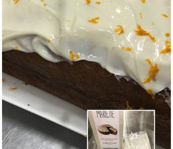 J'ai testé pour vous la préparation Marlette Carrot Cake