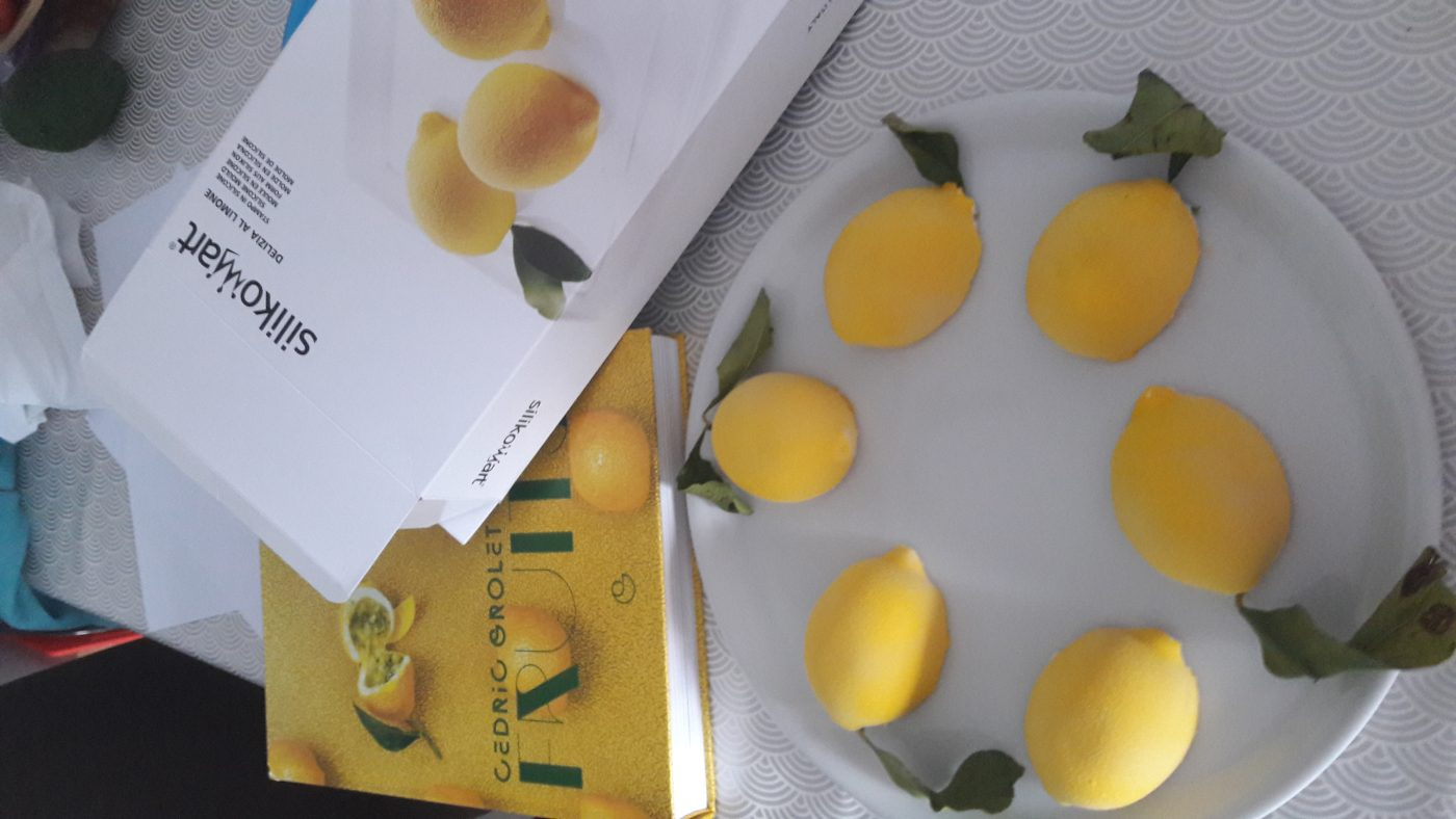 J'ai testé pour vous le moule citron de chez silikomart