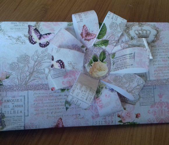 Enveloppe cadeau du printemps