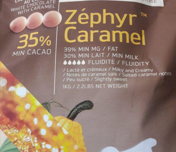 J'ai testé pour vous le chocolat de couverture Zephyr caramel