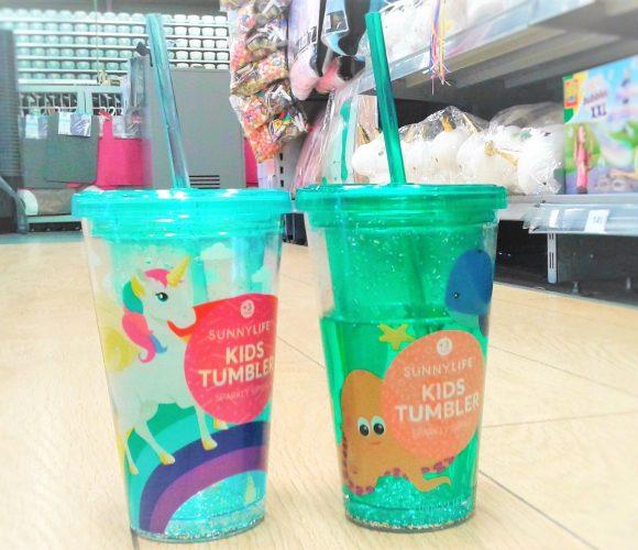 Les verres en plastique animés + paille sont là !!
