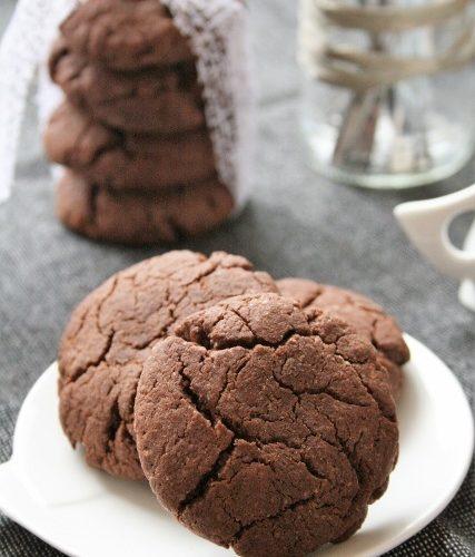 Cookies au chocolat { sans gluten, sans lait, sans oeufs }