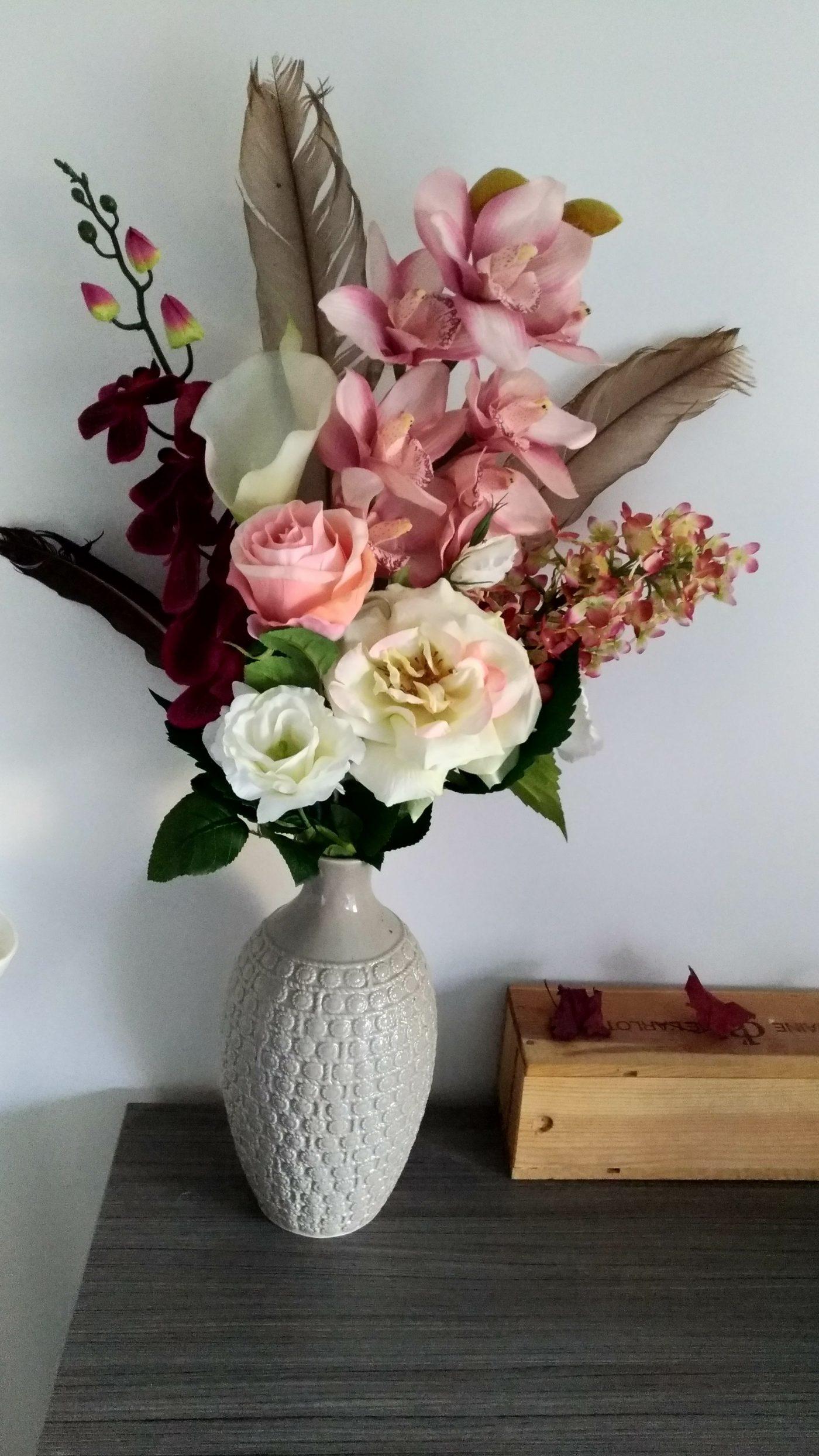 Compo Fleurs artificielles