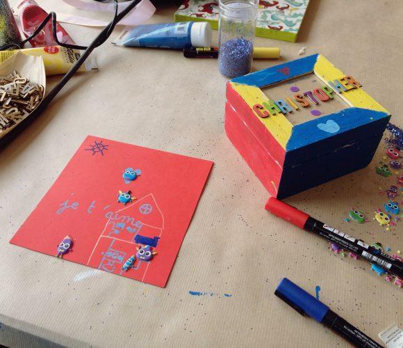 J'ai testé pour vous un atelier enfant créatif en duo avec Marie
