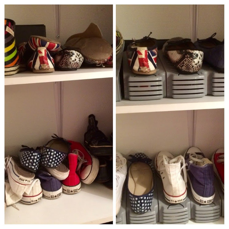 mon range chaussures