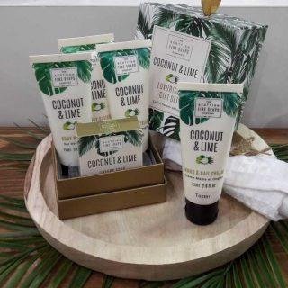 J'ai testé pour vous le coffret Coconut & Lime de The Scottish Fine Soaps Company