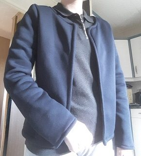 """Couture d'une veste modèle """"Monceau"""""""